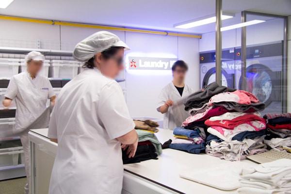 Lavandería interna Laundry ID