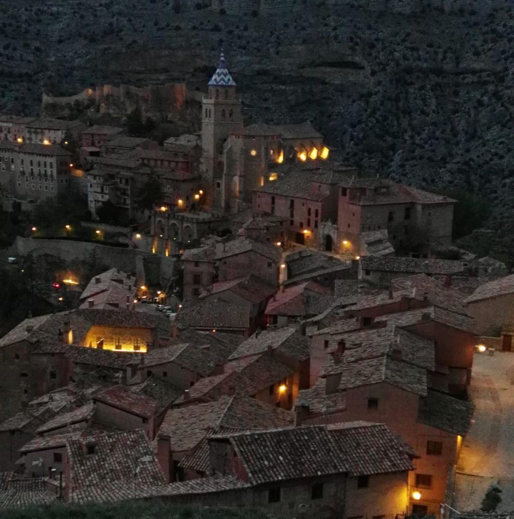 Albarracín nocturna