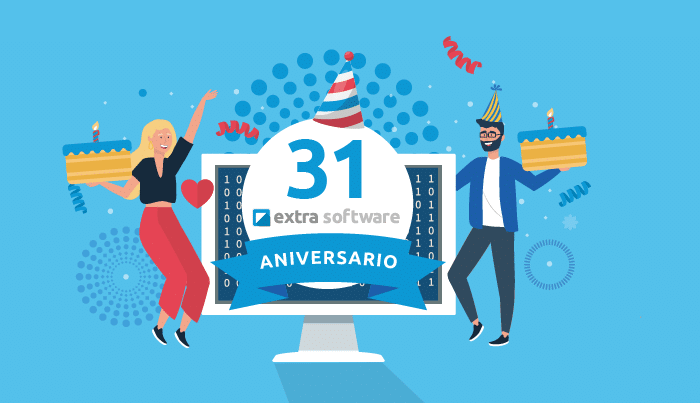 ¡Celebramos el 31 Aniversario Extra Software!