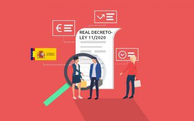 El Real Decreto-ley 11/2020, nuevas medidas contra el Covid-19 (1 de 2)