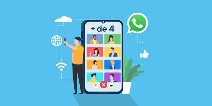 Videollamada WhatsApp más de 4 usuarios, ya disponible
