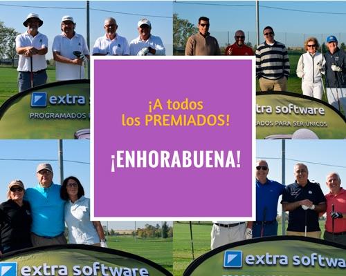 Agradecimiento torneo golf extra software