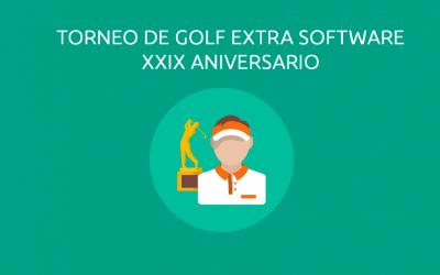 Celebración de nuestro XXIX Aniversario Torneo de Golf Extra Software