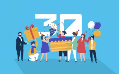 ¡Muchos amigos para celebrar el 30 Aniversario de Extra Software!
