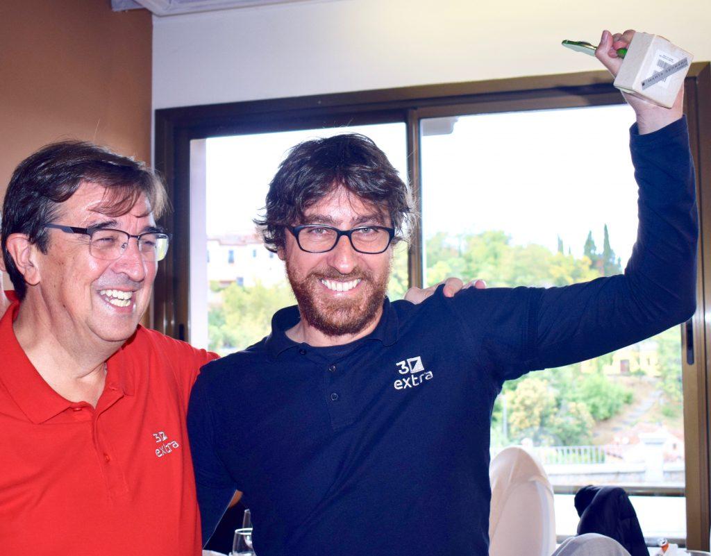Juan Carlos de Mercado y Gabriel Pint