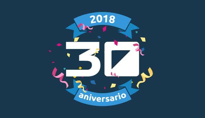 2018: Balance del año del 30 Aniversario de Extra Software