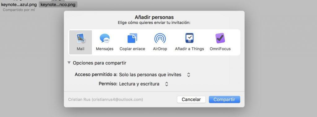 share iCloud