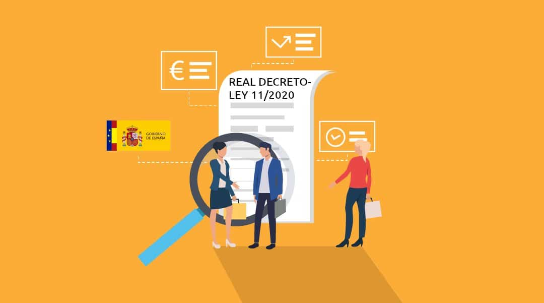 Real Decreto-ley 11/2020: nuevas medidas contra el Covid-19 (2 de 2)