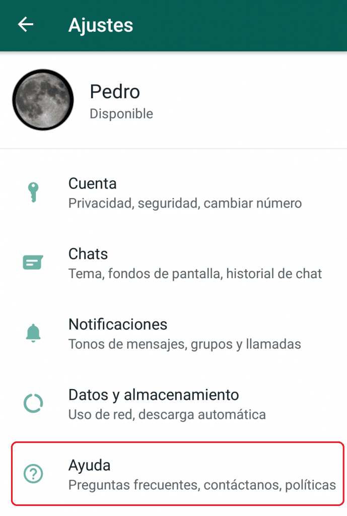 Video llamada whatsapp mas de 4 ajustes 2