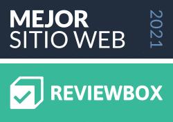 Mejor Sitio Web 2021 Reviewbox